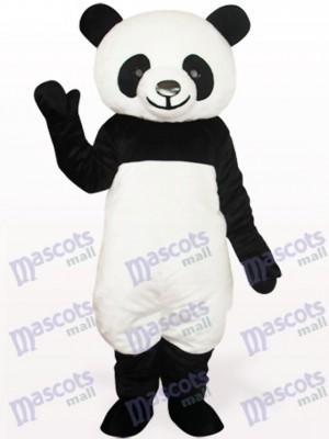 Schwarzes Panda Tier Maskottchen Kostüm