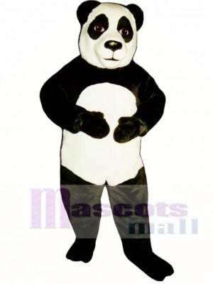 Panda Maskottchen Kostüm Tier