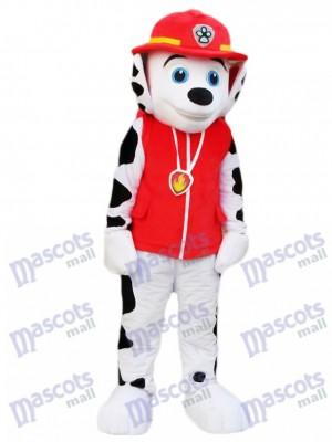 Pfote Patrol Marshall Hund Dalmatiner Maskottchen Kostüm Cartoon Anime