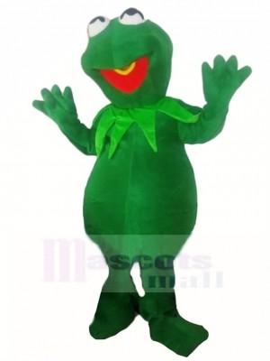 Schüchterner Kermit Der Frosch Maskottchen Kostüm