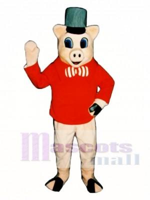 Ziegel Schwein Maskottchen Kostüm