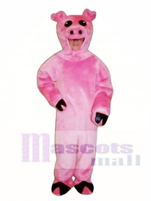 Niedlich Schwein Maskottchen Kostüm