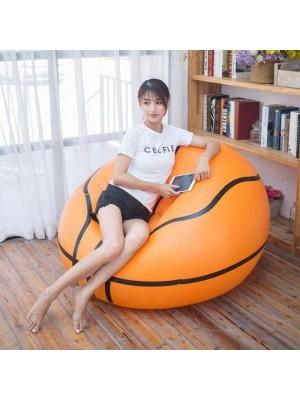 PVC Aufblasbar Basketball Stuhl Fußball Ball Luft Sofa Zum Erwachsene Kind