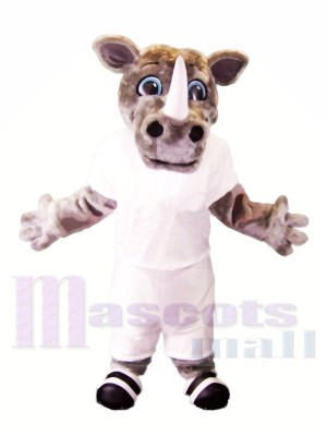 Sport Leichte Nashorn Maskottchen Kostüme