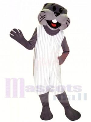 Sportlicher Otter Maskottchen Kostüm