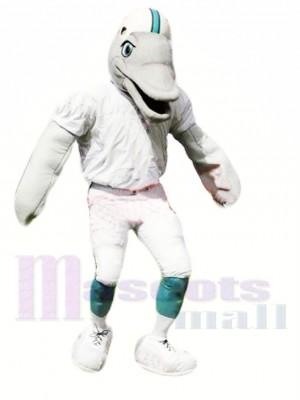 Sportlicher Delphin Maskottchen Kostüm