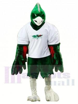 Sport Grün Phönix Maskottchen Kostüm