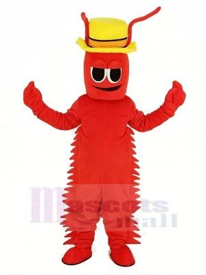 rot Conrad Crawdad Maskottchen Kostüm