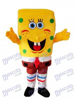 Neue SpongeBob Maskottchen Erwachsene Kostüm Cartoon Anime