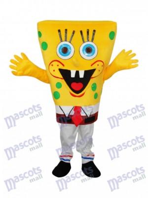 SpongeBob Maskottchen Erwachsene Kostüm Cartoon Anime