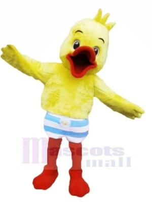 Pelzig Ente Maskottchen Kostüme Karikatur