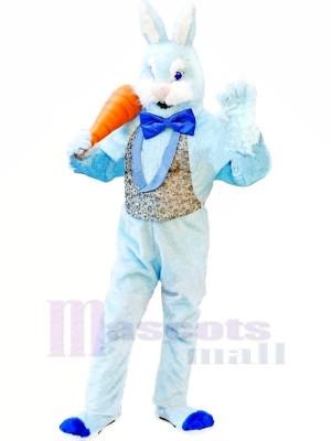 Blau Hase Erwachsene Maskottchen Kostüme Tier