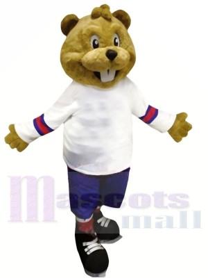 Braun Biber mit Passen Maskottchen Kostüme Tier