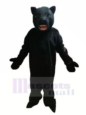 Schwarz Panther Maskottchen Kostüme Erwachsene