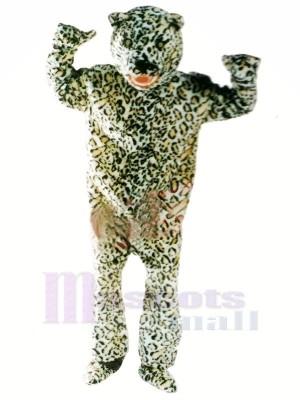 Heftig Leopard Maskottchen Kostüme Erwachsene
