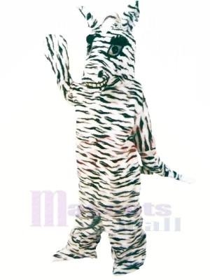 Freundlich Zebra Maskottchen Kostüme Karikatur
