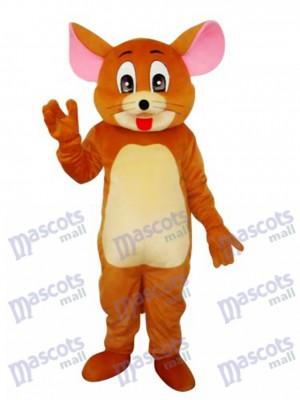 Jerry-Ratten-Maskottchen-erwachsene Kostüm-Karikatur-Anime