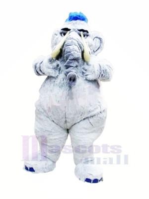 Mammut Grau Elefant Maskottchen Kostüme Erwachsene