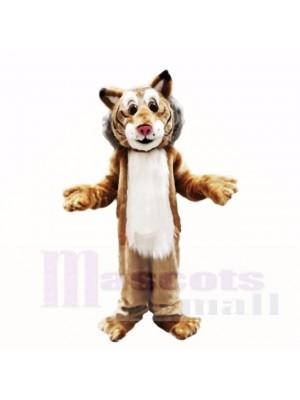 Freundlich Leicht Bobcat Maskottchen Kostüme Erwachsene