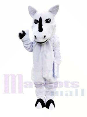 Weiße Nashorn Maskottchen Kostüme