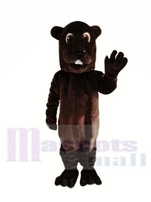 Braun Erwachsene Biber Maskottchen Kostüme Tier