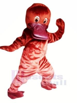 Süß rot Schnabeltier Maskottchen Kostüme Billig