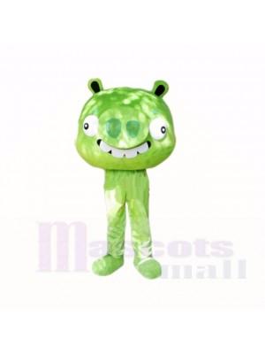 Grün Schwein Maskottchen Kostüme Karikatur
