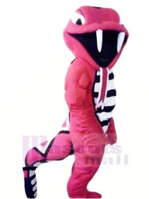 Heftig rot Kobra Maskottchen Kostüme