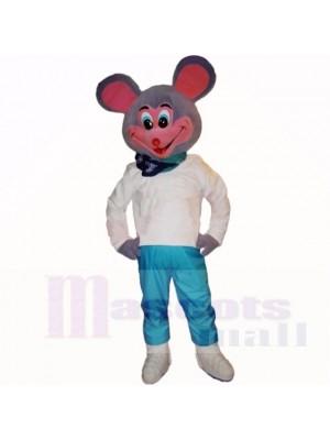 Lächelnd Sport Leicht Maus Maskottchen Kostüme Karikatur