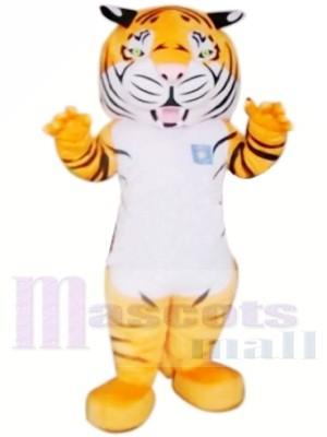 Heftiger erwachsener Tiger Maskottchen Kostüme