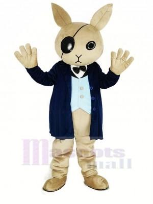 Cool Hase Diener Maskottchen Kostüm