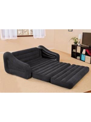 2 in 1 Aufblasbar Wasserdicht Beflockt Sofa und Bett