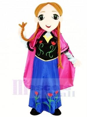 Gefroren Prinzessin Anna Maskottchen Passen