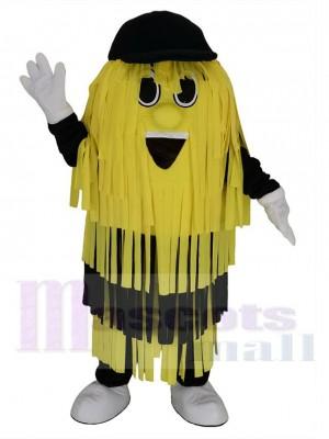 Gelb und Schwarz Reinigungsbürste für die Autowäsche Maskottchen Kostüm