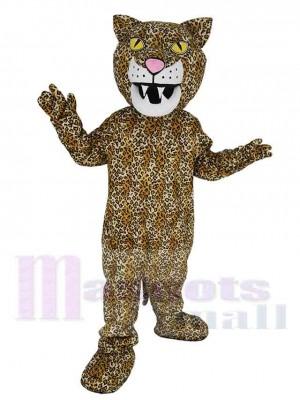 Heftig Jaguar Panther Maskottchen Kostüm Tier
