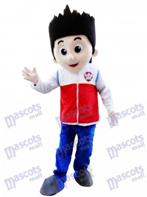 Paw Patrol Ryder Maskottchen Kostüm Cosplay Karton Maskottchen Kostüm TYP B