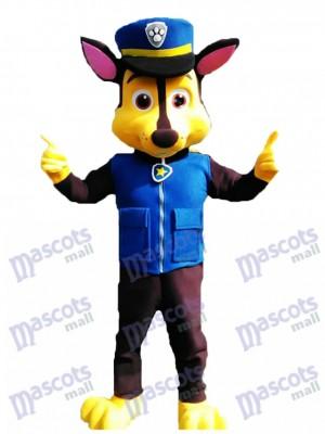 Neue Paw Patrol Chase Hund Erwachsene Maskottchen Kostüm Phantasie Anzug Cosplay
