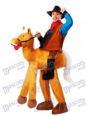 Piggyback Pony Pferd Carry Me Ride Pferd Maskottchen Kostüm chipmunks kostüm huckepack kostüm selber machen