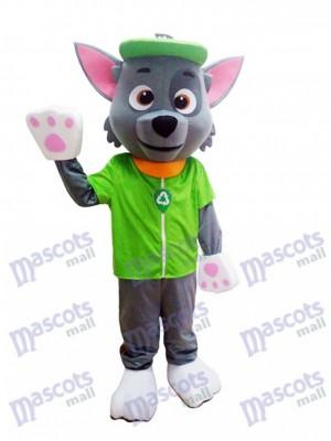 Paw Patrol Ökologie Pup Rocky Maskottchen Charakter Kostüm