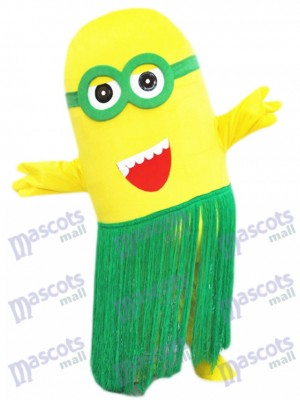 Hula Hawaii Minions Despicable Me Maskottchen Kostüm