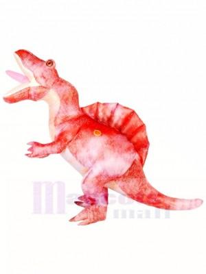 Erwachsene Rosa Spinosaurus Halloween Party Dinosaurier Aufblasbare Kostüme
