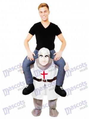 Die Kreuzfahrer Piggy Back Carry Me Maskottchen Kostüm Crusader Ritter Kostüme chipmunks kostüm, huckepack kostüm selber machen