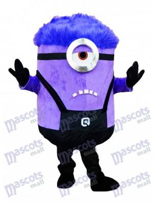 Verrückte ich MINIONS Verabscheuungswürdige ich Purple Minions Maskottchen Kostüm