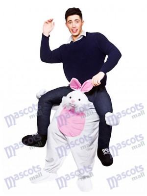 Carry Me Osterhase Piggy Back Maskottchen Erwachsene Fahrt auf lustige Kostüme chipmunks kostüm, huckepack kostüm selber machen