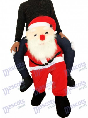 Huckepack Weihnachtsmann Carry Me Ride Vater Weihnachten Maskottchen Kostüm chipmunks kostüm huckepack kostüm selber machen