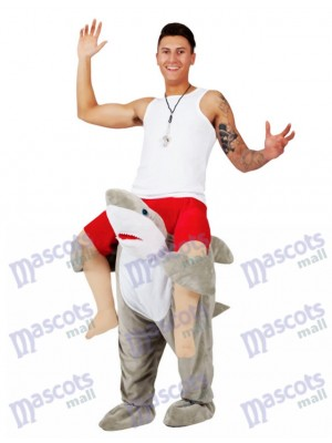 Zurück Schulter Shark Carry Me Ride auf Hirsch Maskottchen Kostüme chipmunks kostüm  huckepack kostüm selber machen