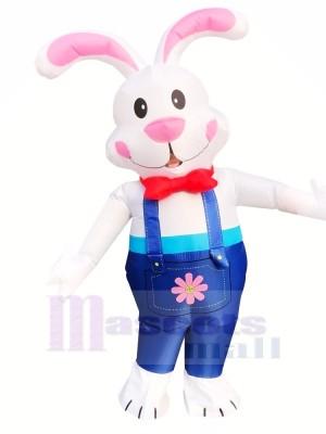 Ostern Hase Aufblasbar Kostüm Schick Kleid Halloween