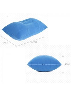 Luft Aufblasbar Kissen Draussen tragbar Falten Doppelt Einseitig Beflockung Kissen