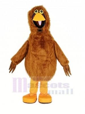 Licht Braun Vogel Maskottchen Kostüm Tier