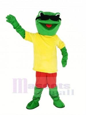Cool Frosch Maskottchen Kostüm Tier